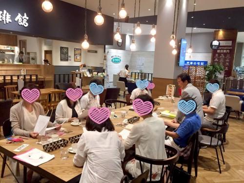 アイデイール写真_お茶会の様子